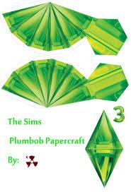plumbob headband the sims plumbob papercraft by killero94 on deviantart