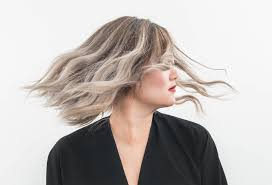 high lighted hair with gray roots what you should know before dyeing your hair gray stylecaster