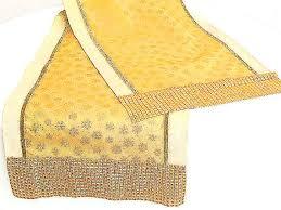 gold star table runner glitter gold star custom dining table runner 15x84 sequin sparkly