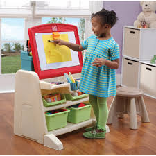 Step2 Deluxe Art Desk With Splat Mat Step2 Deluxe Art Master Desk With Chair Walmart Home Chair