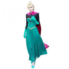 elsa costume disney elsa frozen complete costume for adults