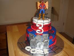 cole u0027s spiderman birthday cake cakecentral com