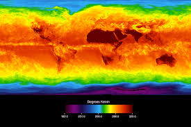 World Temperature Map by Global Temperature Image Of The Day