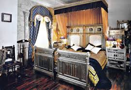 interior comely image of gothic style bedroom decoration using