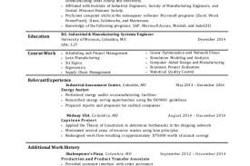 Industrial Engineer Sample Resume by Sample Resume Industrial Engineering Resume Audrey Wood Durango