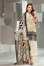 latest stylish nishat linen winter unstitched for women