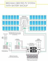 grid tie solar panel wiring diagram battery disconnect switch fuse