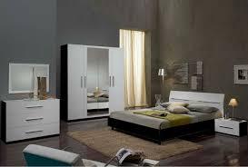chambre à coucher blanc et noir chambre a coucher noir et blanc enchanteur sur dacoration avec
