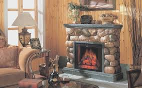 fireplace view rustic stone fireplace popular home design