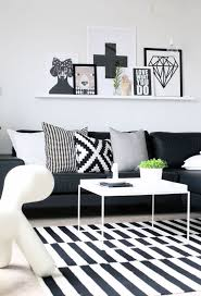 ideas to decorate a living room 48 black and white living room ideas decoholic