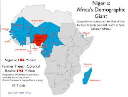 Africa Population Map by Geocurrents Maps Of Nigeria Geocurrents