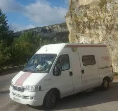 fiat ducato 2003 campervan ambulance conversion colourful
