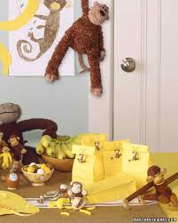 monkey decorations for baby shower the best baby shower ideas martha stewart