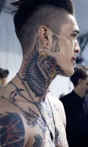 neck wing tattoos 22 best neck tattoo images on pinterest neck tattoos tattoo ink