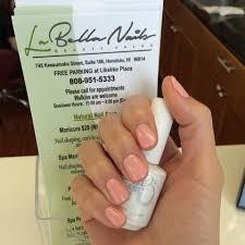 hawaii mom blog manis and pedis at la bella nails