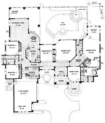 mediterranean style house plan 3 beds 3 baths 3600 sq ft plan