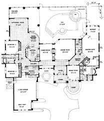 mediterranean floor plans mediterranean style house plan 3 beds 3 baths 3600 sq ft plan