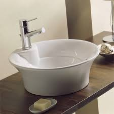 scarabeo by nameeks twist above counter single hole bathroom sink