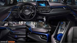 toyota new c hr toyota chr c hr price specification launch interior autopromag