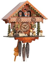 Regula Cuckoo Clock Cuckoo Clock 1 Day Movement Chalet Style 30cm By Hekas 3706 Ex