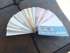 paint card samples ebay