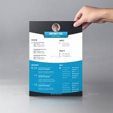 Nice Resume Template Nice Resume Template Design By Graphicsdesignator Graphicriver
