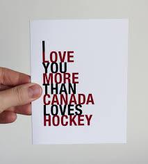 hockey valentines cards canada hockey card i you more than canada hockey