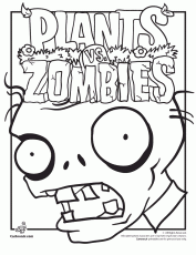 plants vs zombies coloring pages zombies sesiweb us coloring home