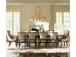 lexington tower place 11 piece formal dining set with customizable