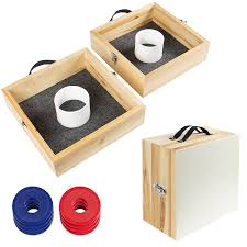 amazon com best choice products wood washer toss game set