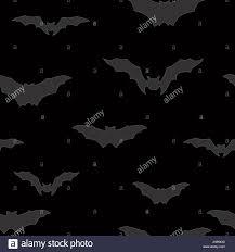halloween bat silhouette seamless pattern holiday halloween stock