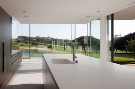 kitchen island modern kitchen island modern home with a unique suspended pool in portugal