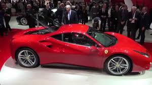 ferrari 488 engine 4k red ferrari 488 gtb exterior interior and engine geneva 2015