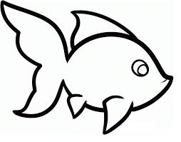 cute fish outline free download clip art free clip art on