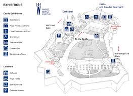 Royal Castle Floor Plan by Wawel Royal Castle Wawel Krakow Poland
