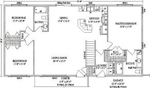 house plans with open concept staggering bedroom ranch house plans open floor for ranch homes
