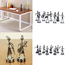 multi styles metal musician composition small craft ornaments