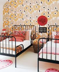 Ikea Beds For Girls by 10 Girls Toddler Rooms Marimekko Wallpaper And Toddler Bed