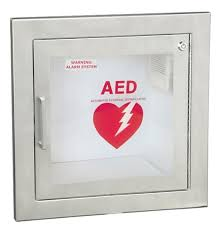 Stainless Steel Wall Cabinets Recessed Stainless Steel Aed Cabinet Guaranteed Lowest Price