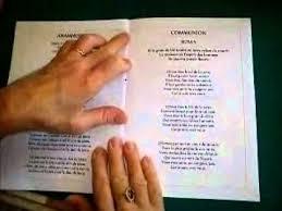 livret de messe mariage pdf exemple d un livret de messe