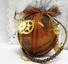 Swarovski Christmas Ornaments Wikipedia by Steampunk Christmas Ornament Rust Is The Color Of Time Holiday