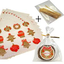 element sticker with cello treat bags for cookie