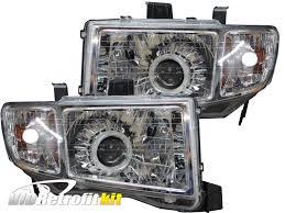 Dodge Challenger Xenon Headlights - 2006 2014 honda ridgeline switchbacks led halo retrofit projector