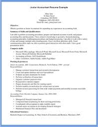 career summary statement exles accounting software junior accountant by mary jane perfect accountant resume exle
