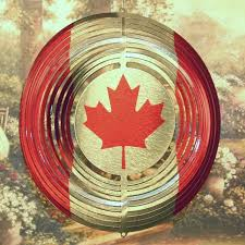 Windart Canadian Flag 6 50 All In The Wind Art Quality Wind Spinners