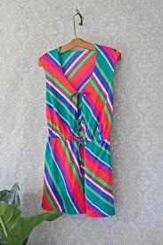 vintage dress 70 s slinky intimates clositherapi vintage