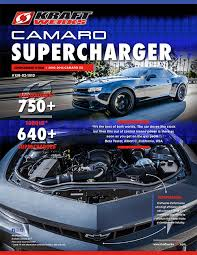 2010 camaro ss supercharger 150 02 1013t kraftwerks usa