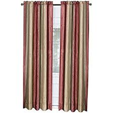 Shimmer Sheer Curtains Amazon Com Achim Home Furnishings Ombre Window Panel 50 Inch By