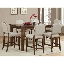 dining room counter height sets furniture counter height table set fresh ivory painted dining