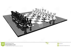 3d chess set stock images image 32201204